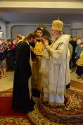 В канун Недели 4-й по Пятидесятнице Митрополит Александр совершил Всенощное бдение в Брянском Кафедральном Соборе