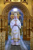 В Неделю 4-ю по Пятидесятнице Митрополит Александр совершил Божественную литургию в Брянском Кафедральном Соборе