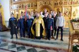 В Брянском Кафедральном Соборе на верность Отечеству, Русской Православной Церкви и казачеству присягнули 13 человек