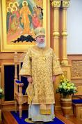 В день тезоименитства Митрополит Брянский и Севский Александр совершил Литургию в Свенском монастыре