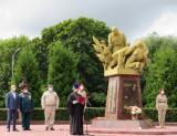 Заведующий военным отделом принял участие в праздновании дня ВДВ