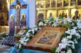 В канун праздника Рождества Пресвятой Богородицы Митрополит Александр совершил Всенощное бдение в Свято-Троицком Кафедральном Соборе