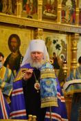 В праздник Введения во храм Пресвятой Богородицы Митрополит Александр совершил Литургию в Брянском Кафедральном Соборе