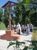В храме святителя Николая г. Сельцо совершили панихиду на могиле павших в годы Великой Отечественной войны