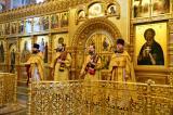 В праздник Торжества Православия Митрополит Александр совершил Литургию в Брянском Кафедральном Соборе